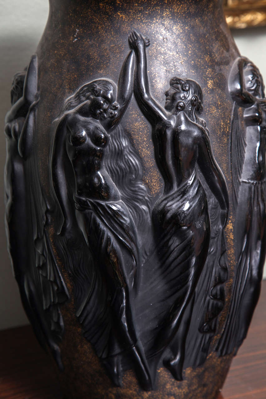 Art Deco Vase by Sabino 9