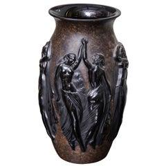 Art Deco Vase by Sabino