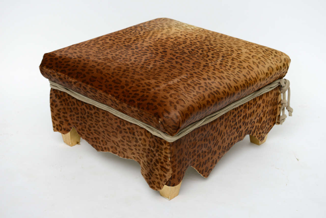 Ronn Jaffe Ottoman Cocktail Table For Sale At 1stdibs