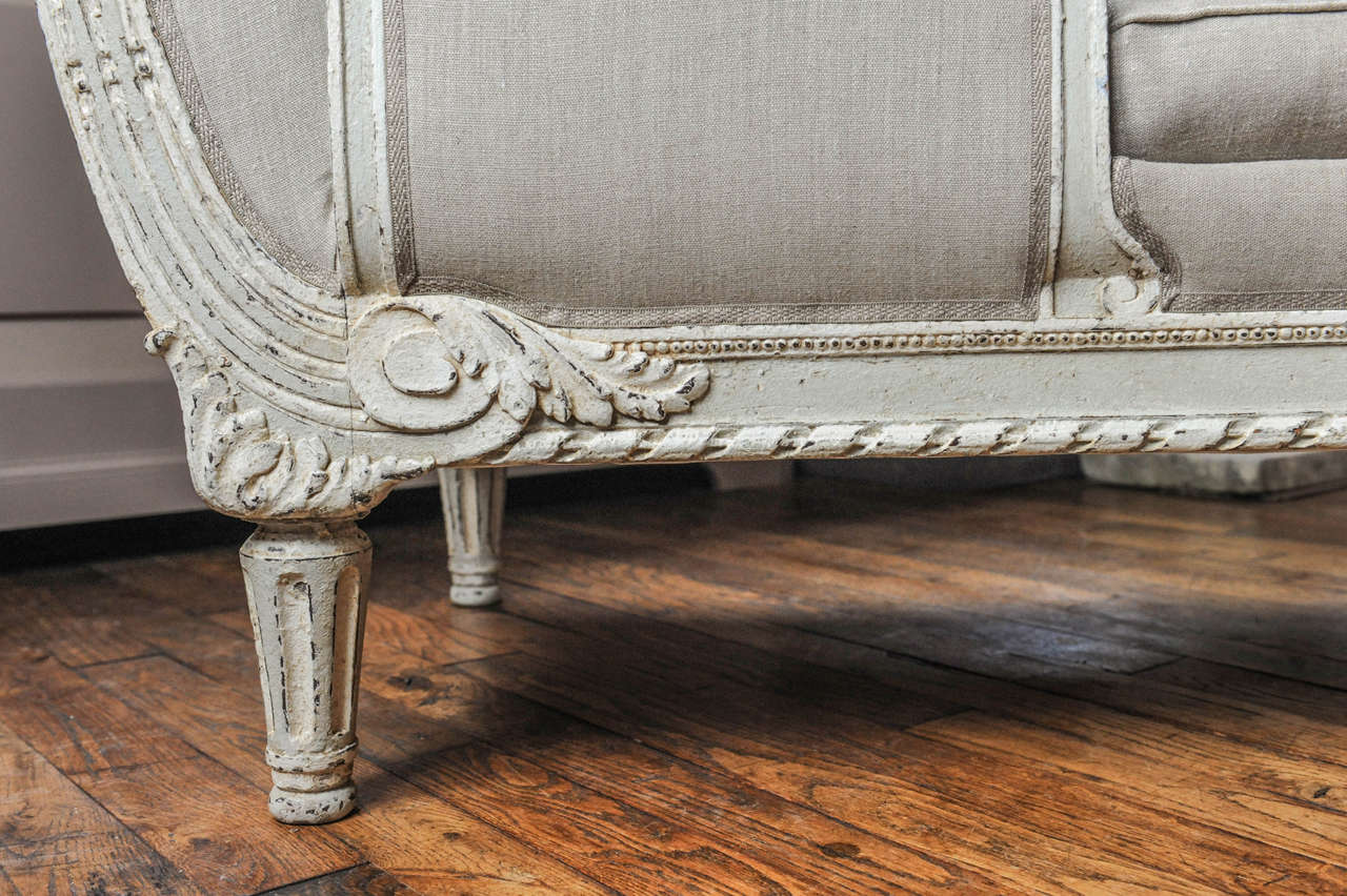 A fully restored antique chaise longue for sale at 1stdibs for Antique chaise longue