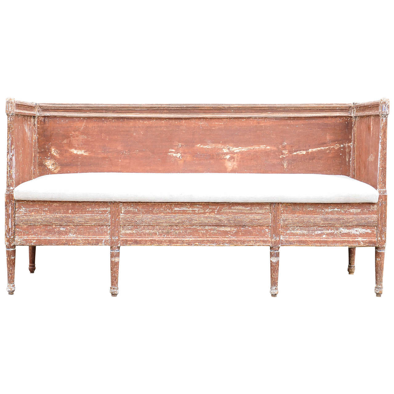 swedish gustavian kitchen bench for sale at 1stdibs