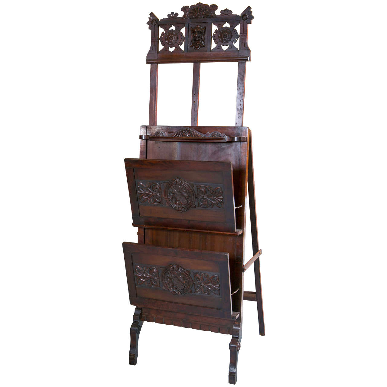 Victorian Tv Stand: Antique Victorian Easel And Music Stand For Sale At 1stdibs