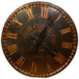 English Tower Clock Face