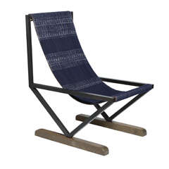 Chambery Sling Chair by Anne and Vincent Corbiere