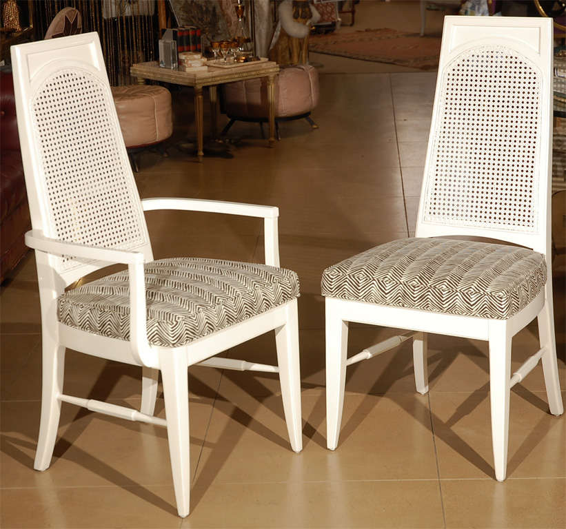 Regency Style Caneback Dining Chairs For Sale At 1stdibs