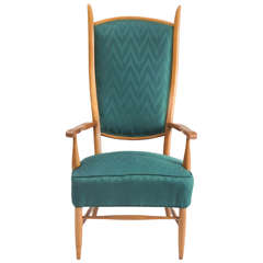 High Back Armchair by Edward Wormely