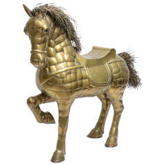 Large Scale Bustamante Horse with Saddle