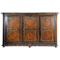 Late 19th Century Bavarian Armoire