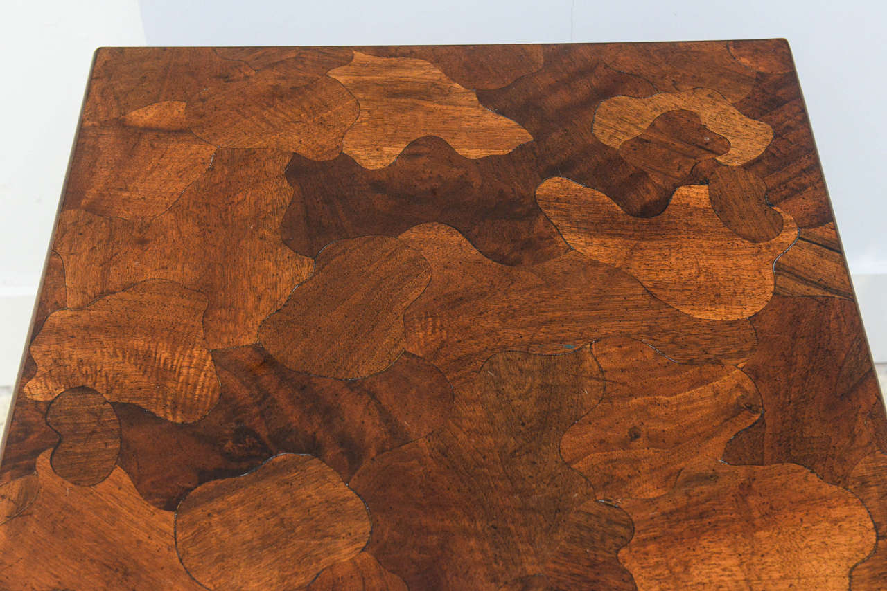 Mid-20th Century American Modern Inlaid Mixed Wood Table, American of Martinsville For Sale