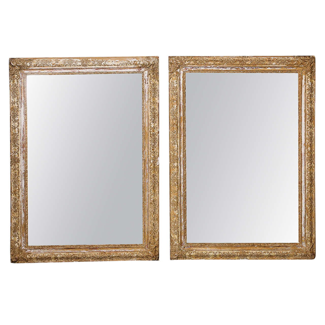 19th century french regency style mirror frames at 1stdibs for Mirror frame styles