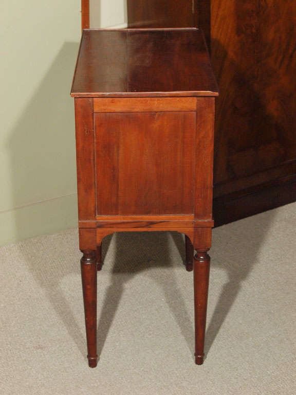 antique french walnut louis xvi style small commode at 1stdibs. Black Bedroom Furniture Sets. Home Design Ideas