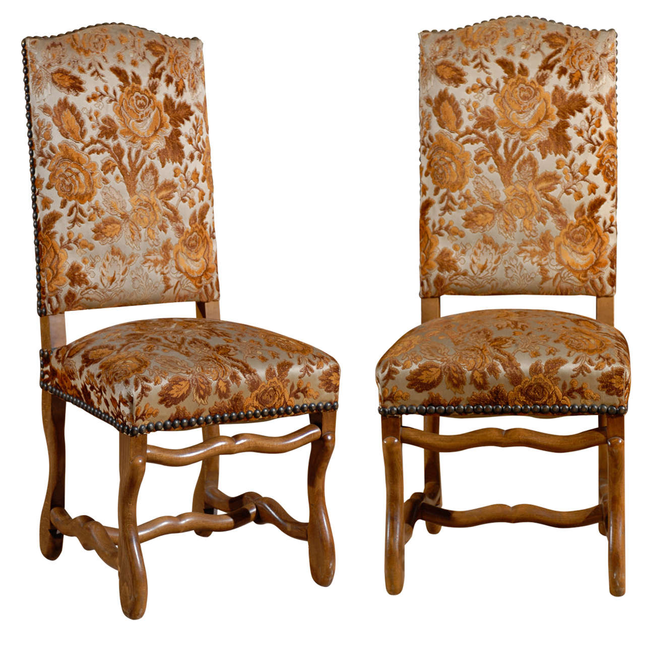 French Country Dining Room Furniture: Set Of 8 Country French Dining Chairs At 1stdibs