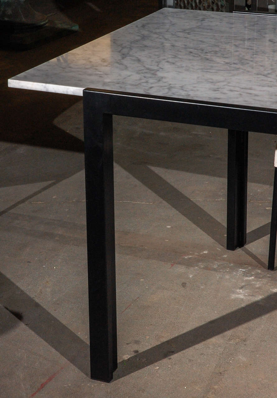 Van keppel green dining table and chairs at 1stdibs for Green dining table and chairs