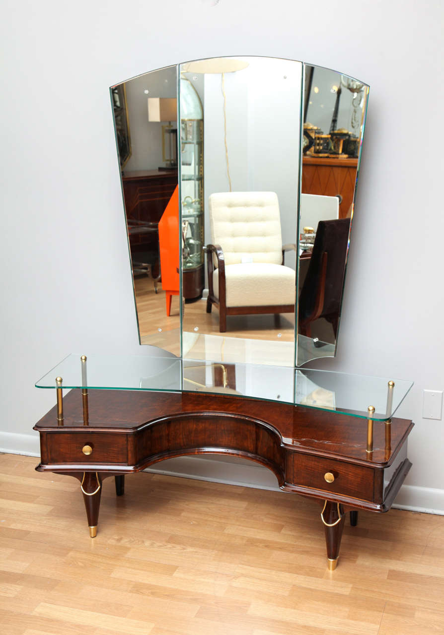 Fabulous Art Deco Coiffeuse Dressing Table For Sale At 1stdibs