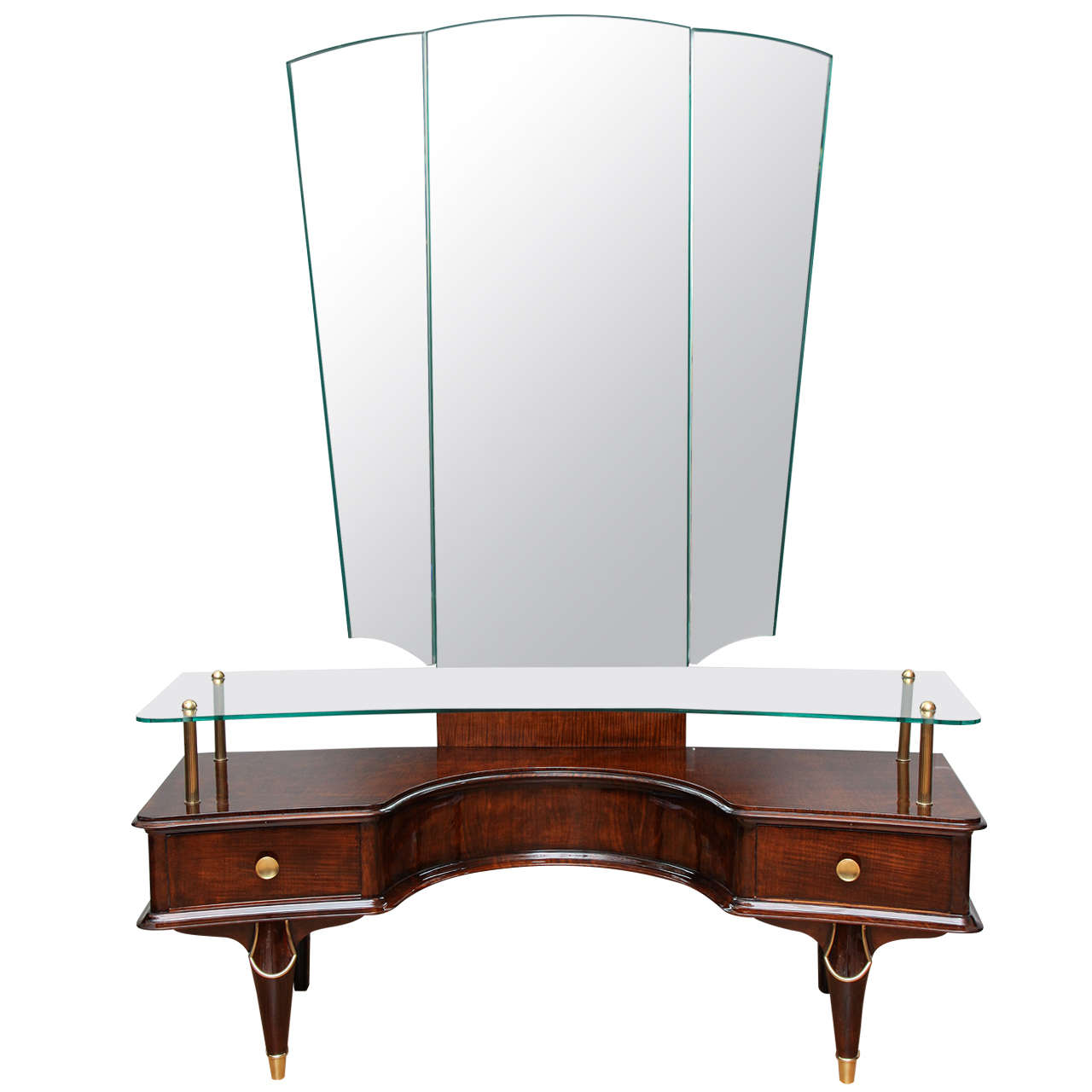 fabulous art deco coiffeuse dressing table for sale at 1stdibs. Black Bedroom Furniture Sets. Home Design Ideas