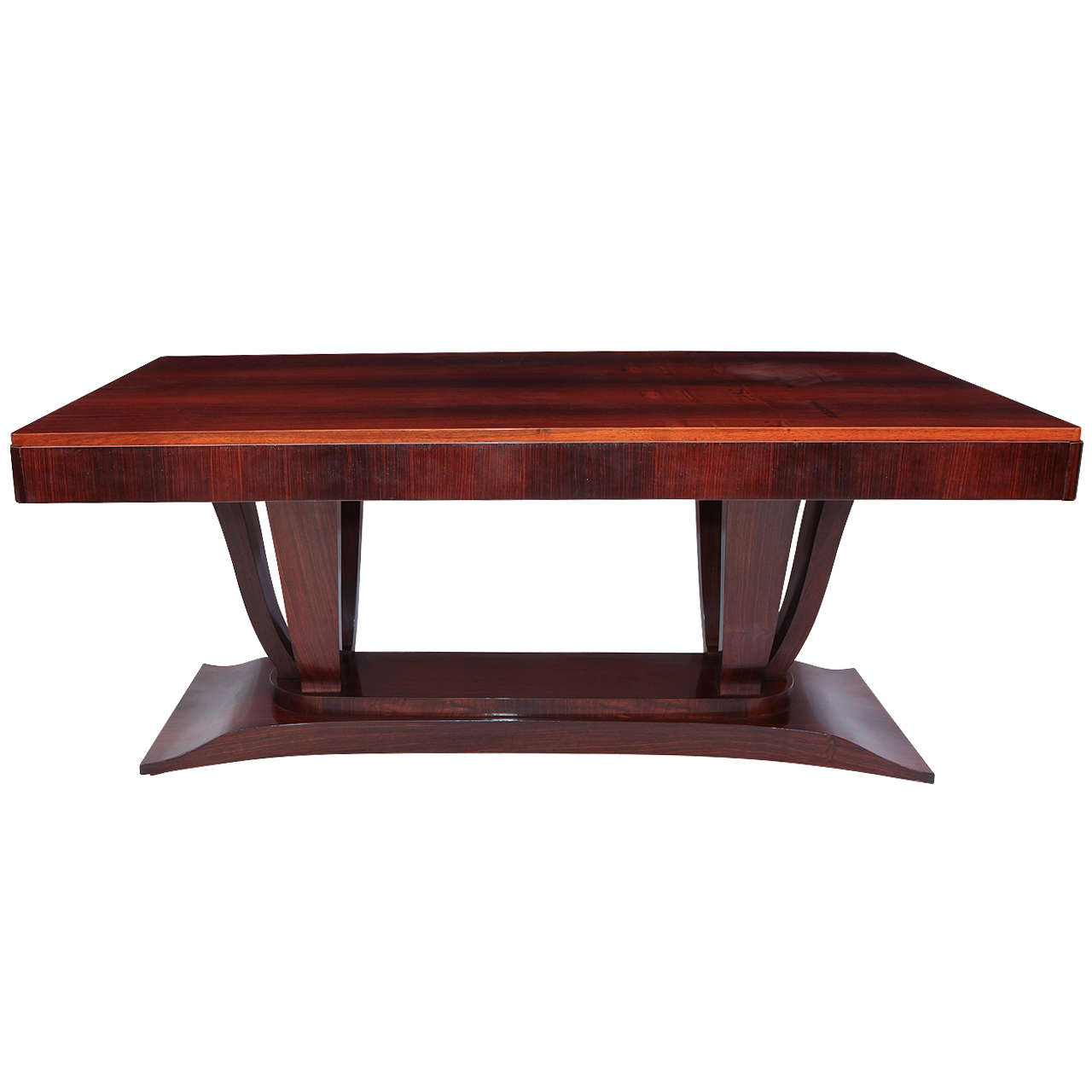Palissander Art Deco Dining Table At 1stdibs