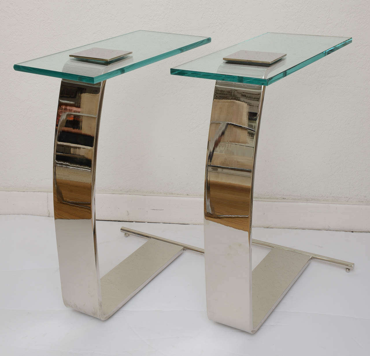 Pair of DIA Side Tables at 1stdibs