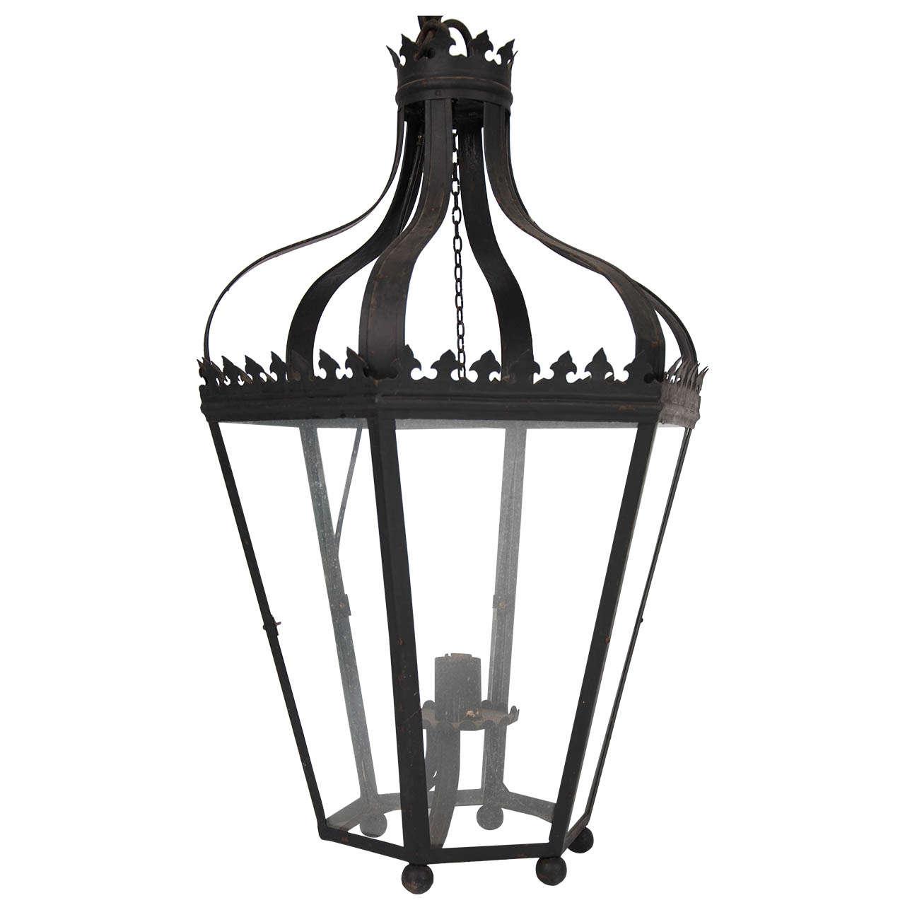 Mid Century Outdoor Lantern at 1stdibs