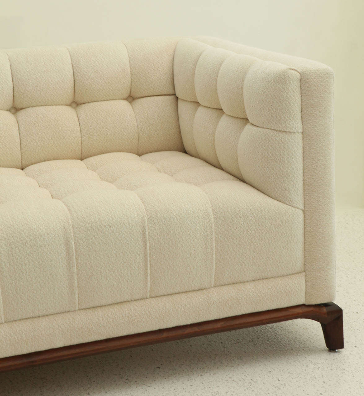 Biscuit Tufted Sofa By Maurice Bailey For Monteverdi Young