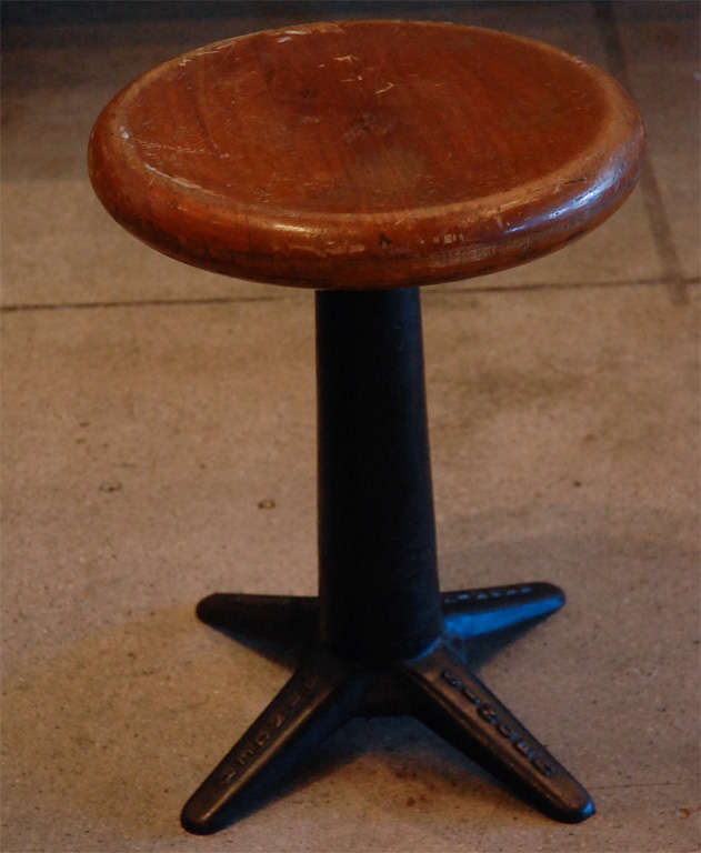 A Set Of Vintage Machinist S Stools 1930 S At 1stdibs