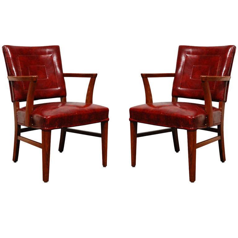 Pair Antique Bankers Chairs For Sale At 1stdibs