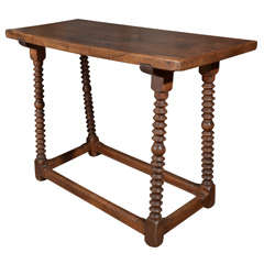 18th Century Spanish Walnut Table
