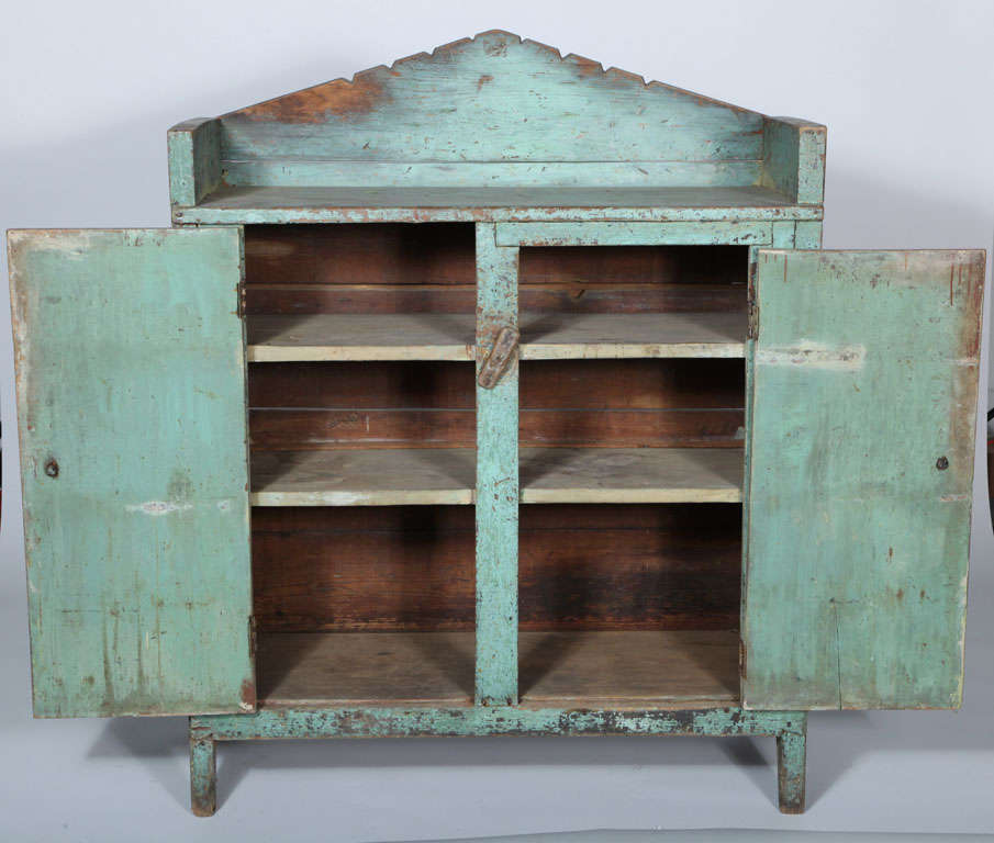 Two-Door Jelly Cupboard At 1stdibs