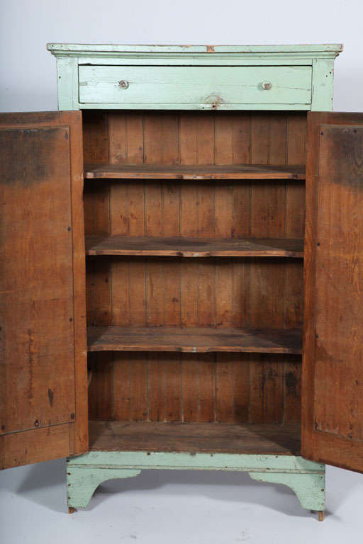 Primitive Jelly Cupboard For Sale at 1stdibs