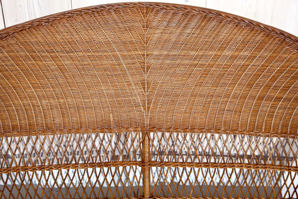 Antique ficks reed wicker set at 1stdibs for Wicker reed