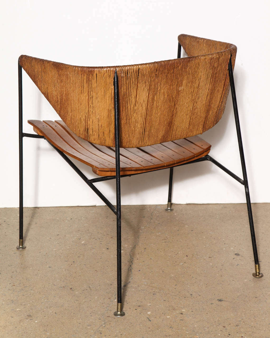 Rare Pair Of Arthur Umanoff Lounge Chairs At 1stdibs