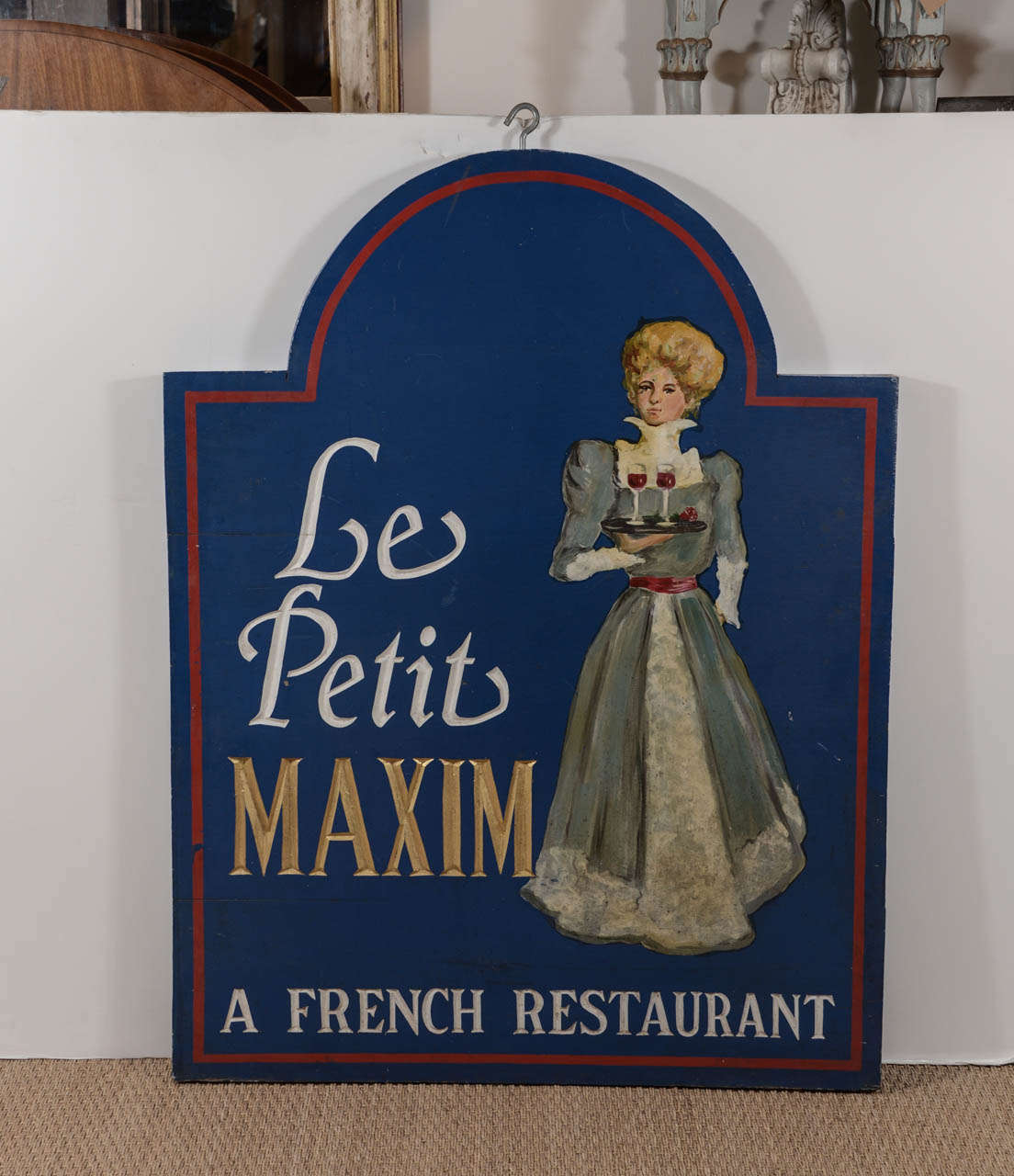 19th century le petit maxim french restaurant sign for for 19th century french cuisine