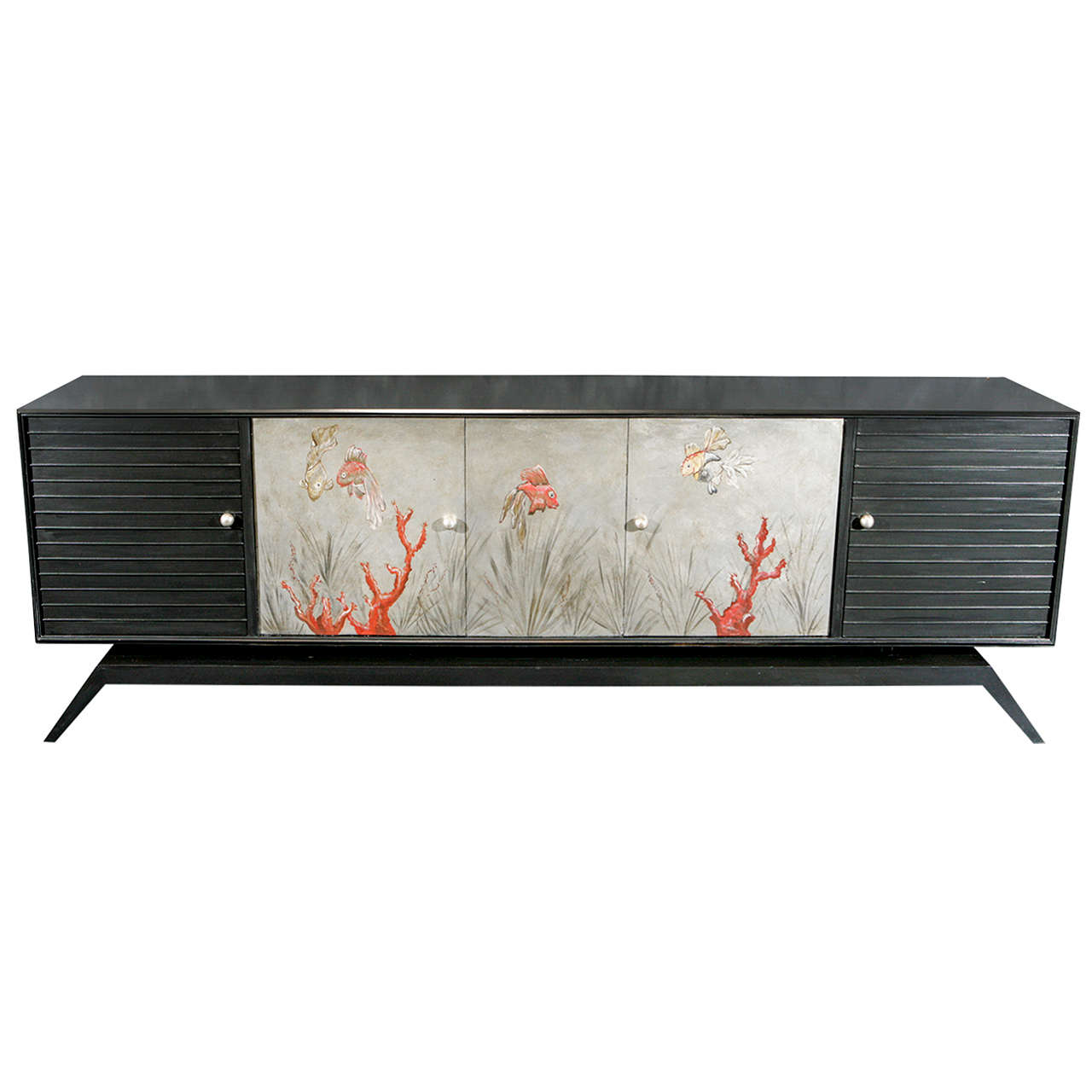 Unique Sideboard in the style of Jean Dunand