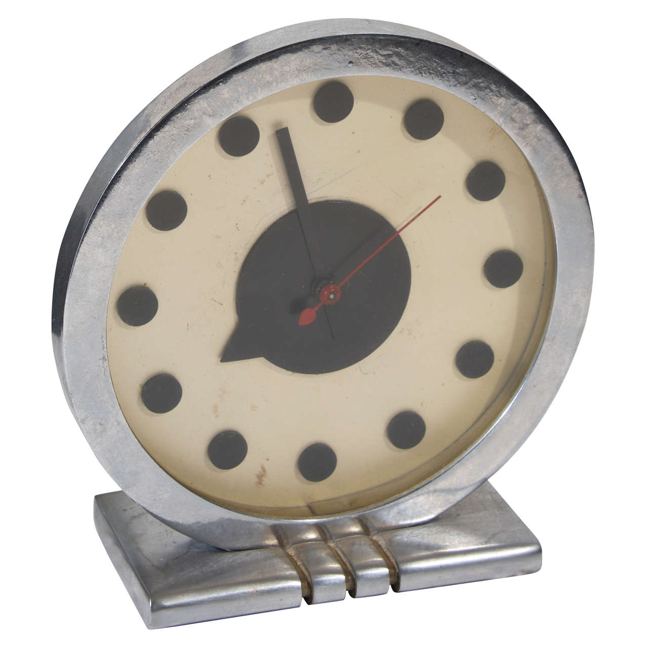 iconic rohde for herman miller desk clock at stdibs - iconic rohde for herman miller desk clock