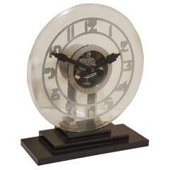 Monumental Leon Hatot (ATO) Electro-Mechanical Clock