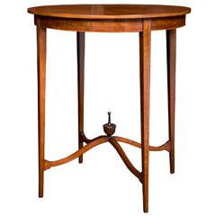Circular Mahogany Tea Table