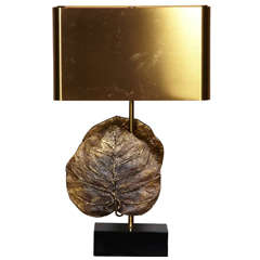Great Bronze Lamp by Maison Charles