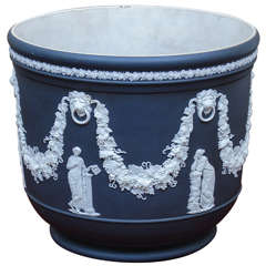 Wedgwood Jasperware Cache Pot