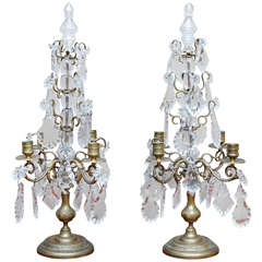 Pair of Belle-Epoque Candelabra