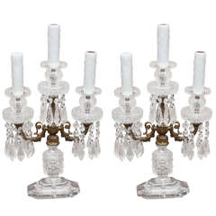Pair of Regency Style Candalebra