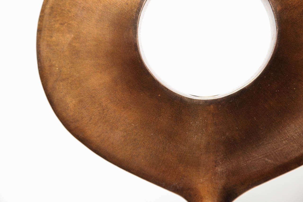 Kei - Studio-Built Bronze Table Light by Alexandre Logé For Sale 1