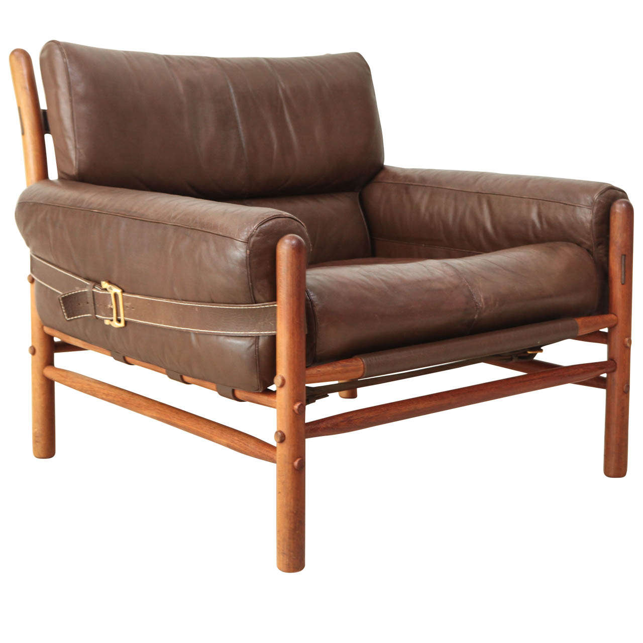 Amazing Arne Norell Leather Arm Chair At 1Stdibs Gmtry Best Dining Table And Chair Ideas Images Gmtryco