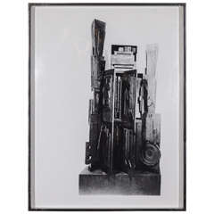 """Louise Nevelson """"Facade"""" Series Serigraph"""