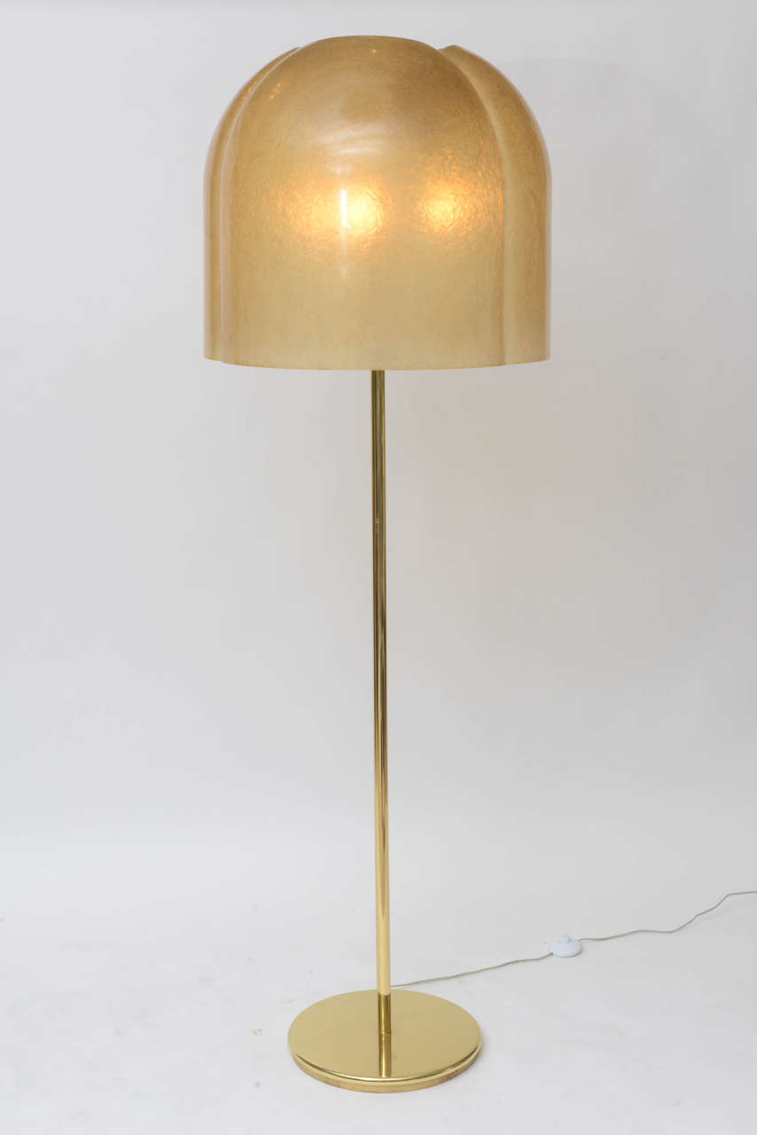 Art deco silver and stacked crystal ball floor lamp at 1stdibs - Rare Salvatore Gregorietti Floor Lamp 2