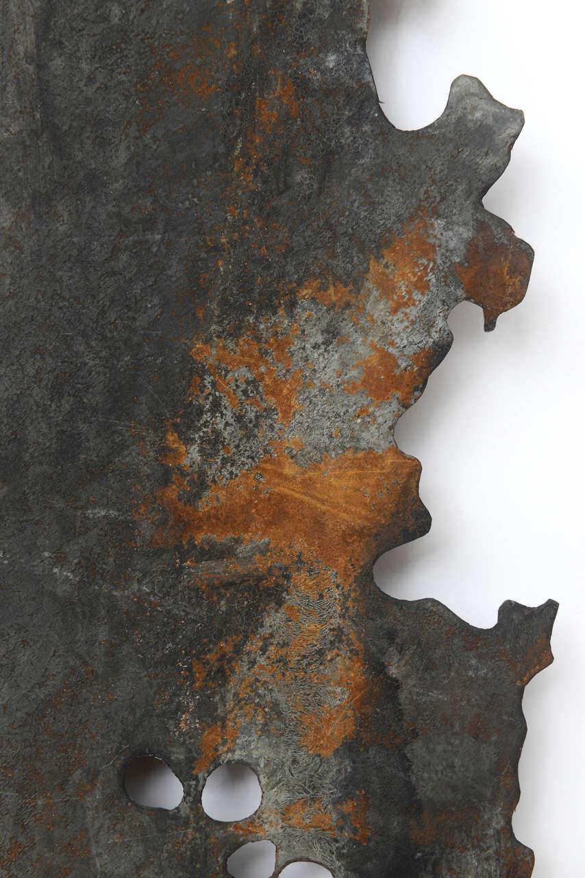 Hand Cut Sheet Metal Tree At 1stdibs