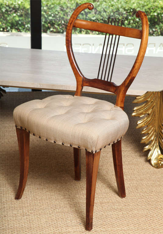 Pair of American 1940s Side Chairs In Good Condition For Sale In East Hampton, NY