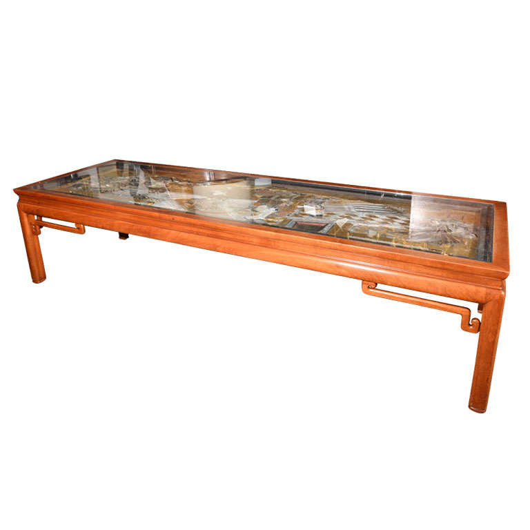 Japanese Carved Coffee Table At 1stdibs