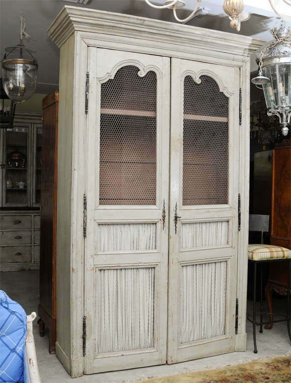 19th Century Country French Food Cupboard 2