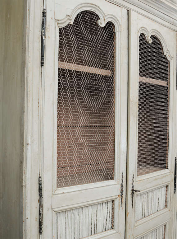 19th Century Country French Food Cupboard For Sale 1