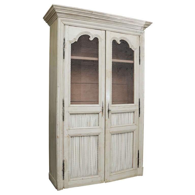 19th Century Country French Food Cupboard 1