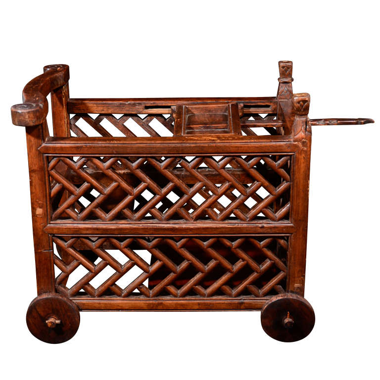 Rosewood Baby Carriage At 1stdibs